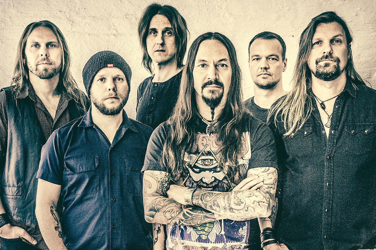 AMORPHIS – Live album Live At Helsinki Ice Hall OUT NOW!