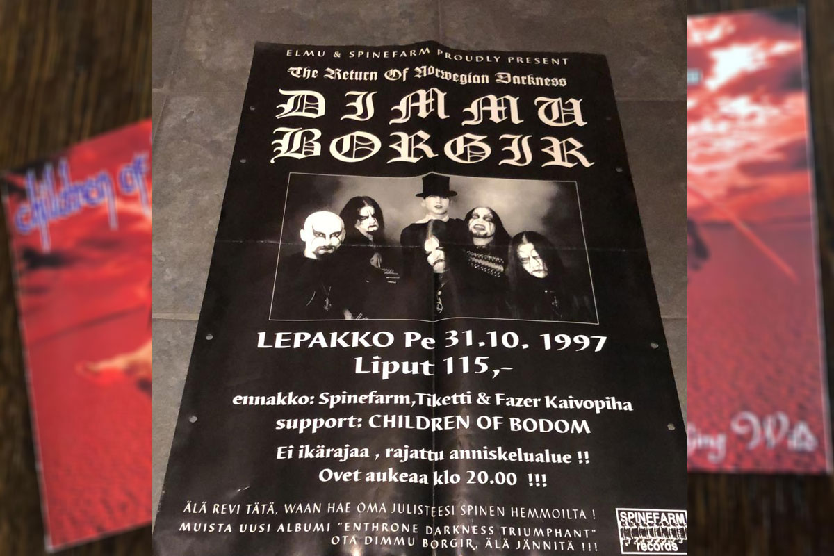 CHILDREN OF BODOM: Tales from the depths of lake Bodom part 2