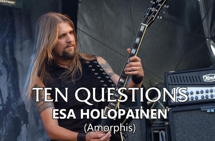 Ten Questions - Esa Holopainen