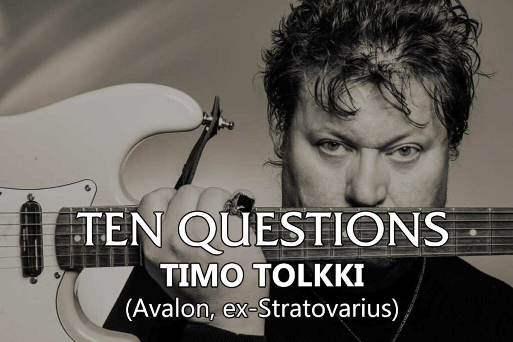 Ten Questions - Timo Tolkki
