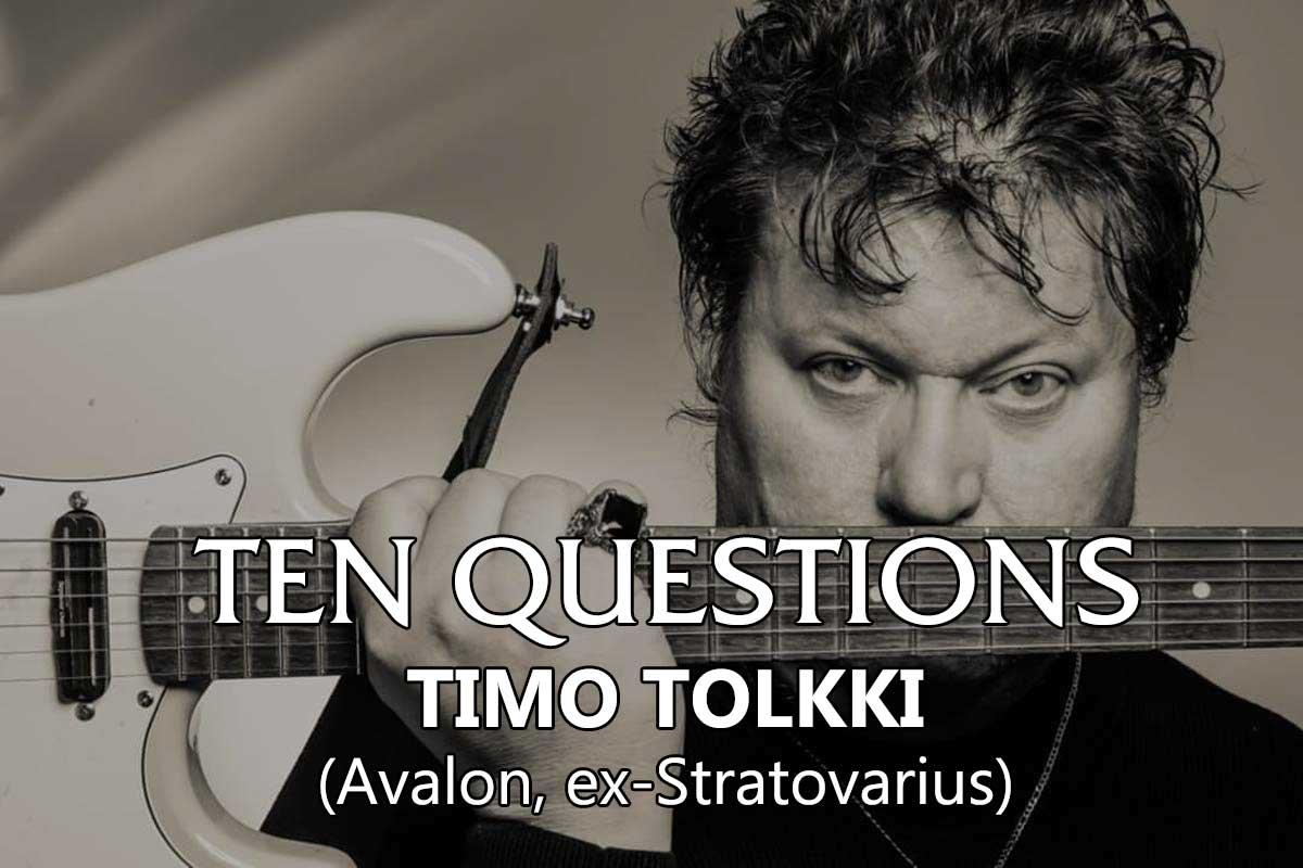 TEN QUESTIONS – Timo Tolkki (Avalon, ex-Stratovarius)