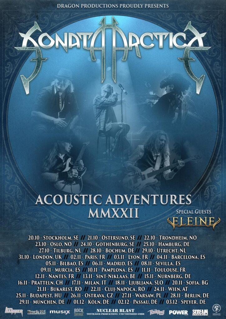SONATA ARCTICA - reveal acoustic album!
